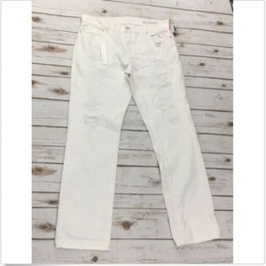 BLANK NYC Jeans 30 x 32 Distressed Relaxed